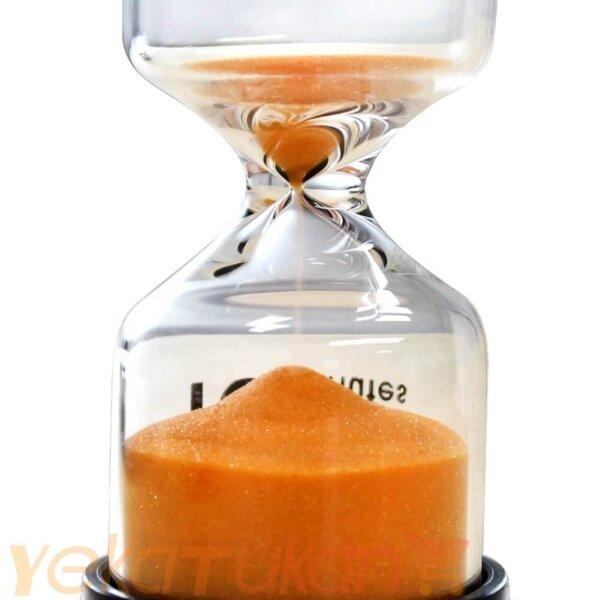 ساعت شنی شیشه ای