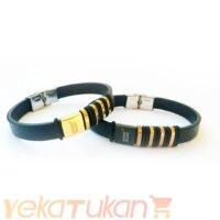 دستبند چرم مونت بلانک (MONTBLANC) [غیر اصل] مدل YKTvnd144