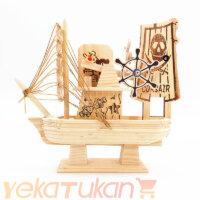 کشتی چوبی